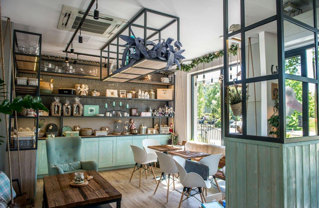 Kwiaciarnio Kawiarnia Na Huśtawce projekt