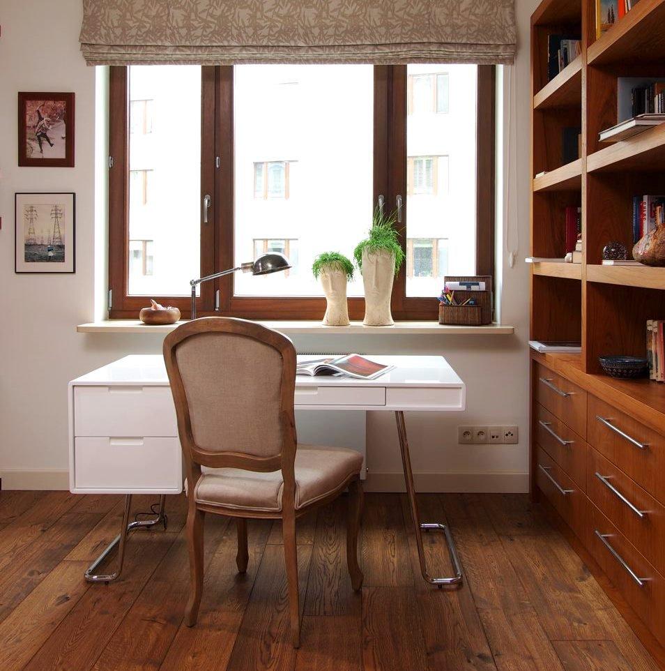 apartament Małgorzaty Foremniak biurko