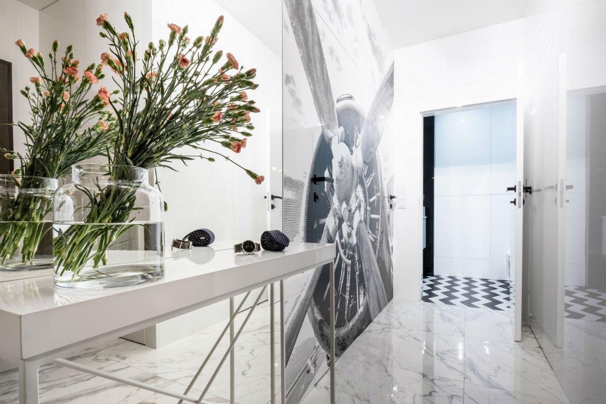 nowoczesny apartament mennica projekt