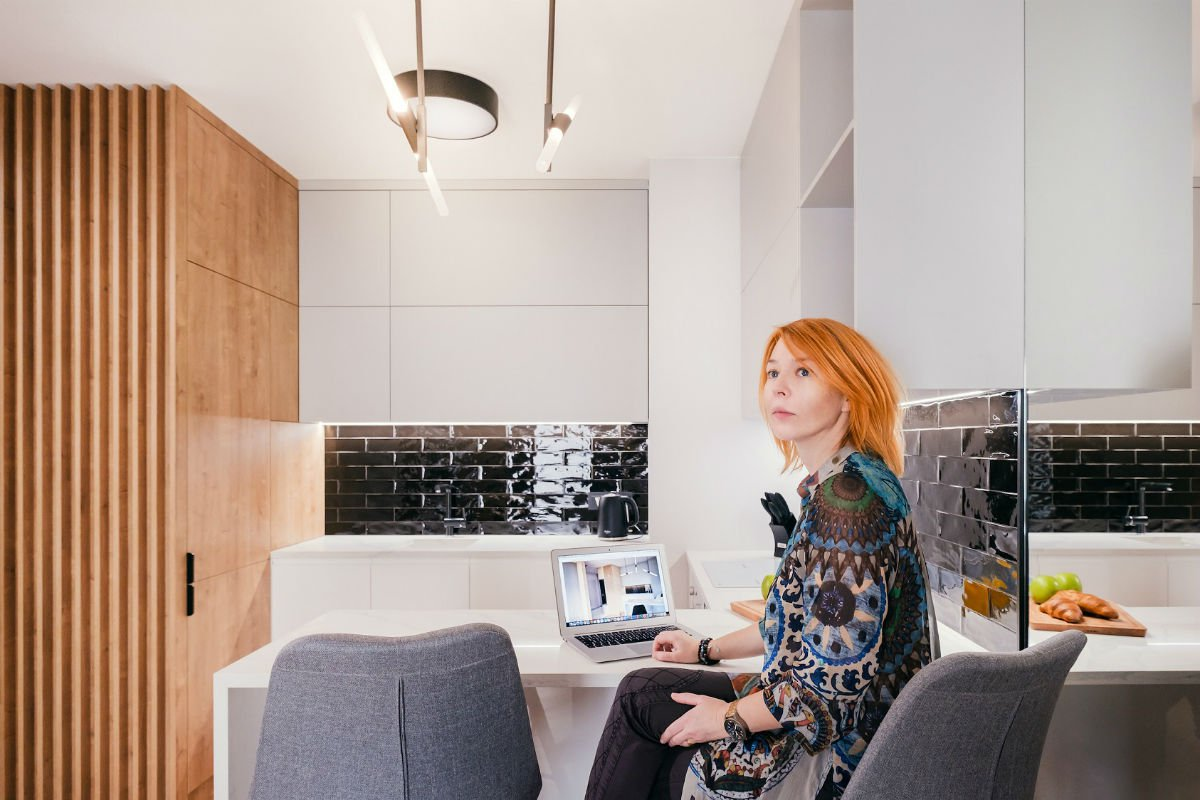 nowoczesny apartament mennica projektant