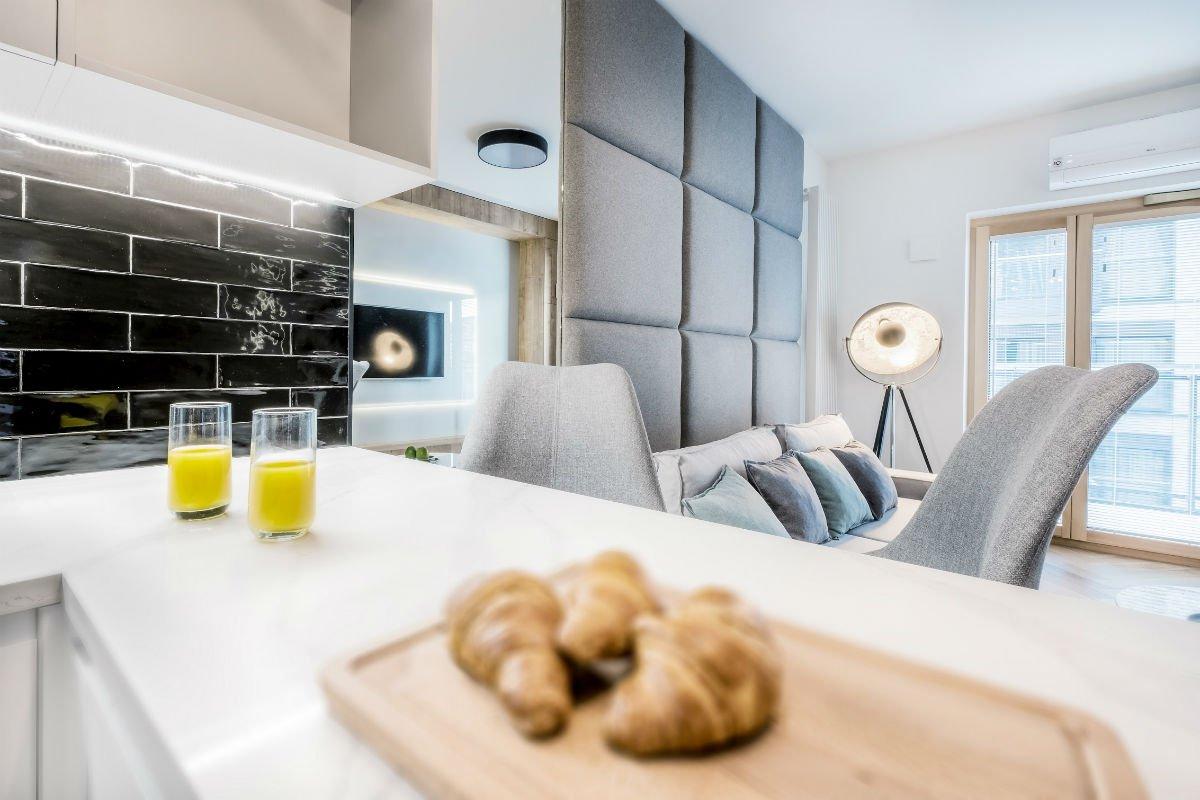 nowoczesny apartament mennica wnętrze