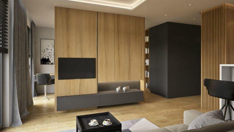 apartament w centrum warszawy projekt