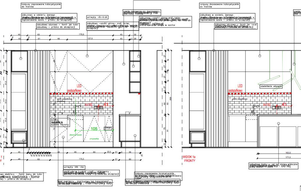 projekt techniczny część 2 podczas projektowania wnętrz