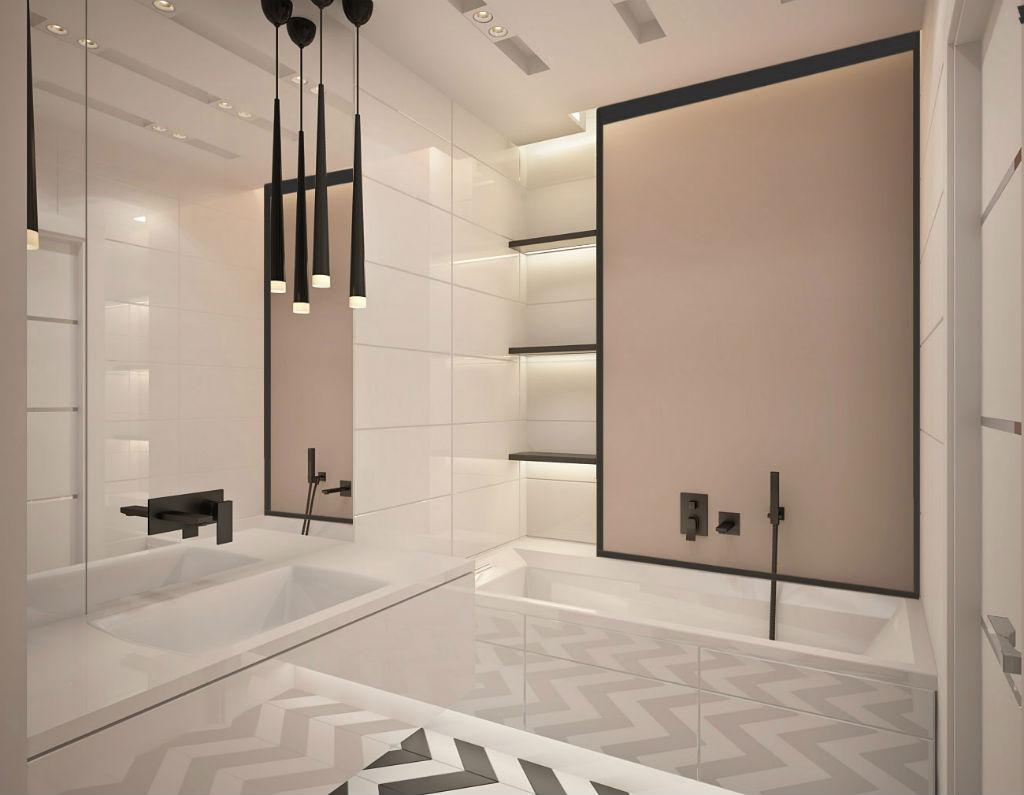 Elegancki apartament z elementami złota 8